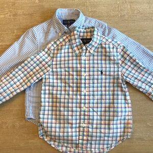 Ralph Lauren Cotton Button Down Shirts - Bundle